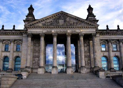 Beitragsbild vom deutschen Bundestag